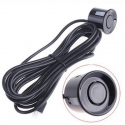 22.5mm Black Parking Sensor Car Reverse Back Up Ultrasonic Radar