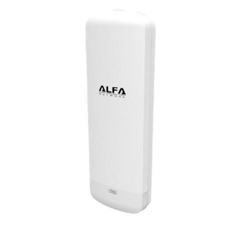14dbi Antena Panel WIFI Rj45 5Ghz exterior largo alcance Alfa