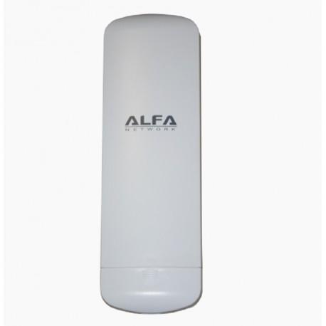 12DBI Antena WiFi exterior panel Rj45 Alfa N2 CPE doble