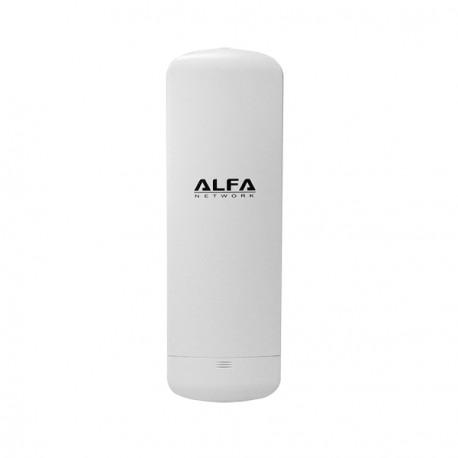CPE 5GHz WiFI Alfa N5C exterior para 2 conectores RP-SMA