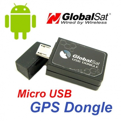 Globalsat ND-105C GPS antenna receiver by micro-USB Android