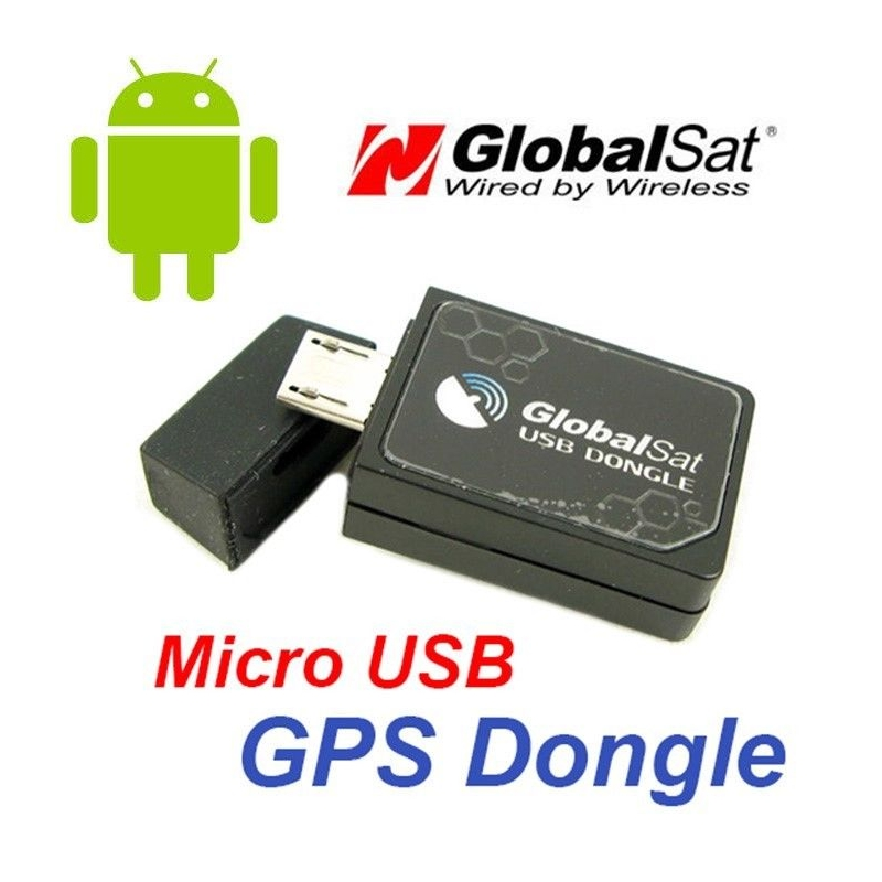 Globalsat ND-105C Receiver, GPS Antenna For