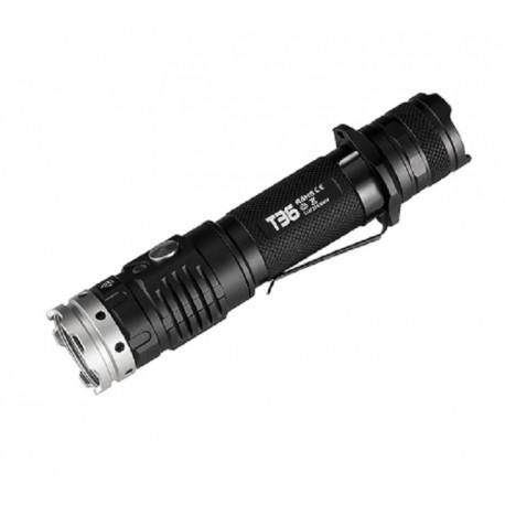 Lampe de poche tactique ACEBeam T36 2000 lúmen rechargeable par