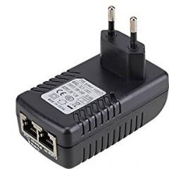 Injecteur d'alimentation de l'Adaptateur Ethernet, DC 24V plug dans l'UE