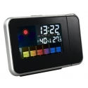 Clock Desktop Multifunction Weather Station Projection Alarm led