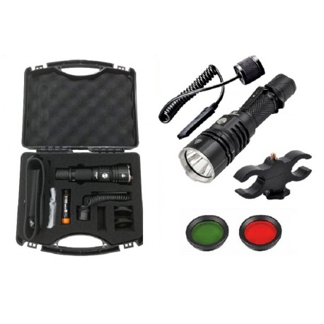 Lampe de poche pour la chasse Acebeam L16-H-KIT avec valise
