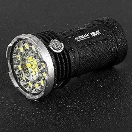 Acebeam X80-GT LED Flashlight very powerful 32500 lumens with batteries