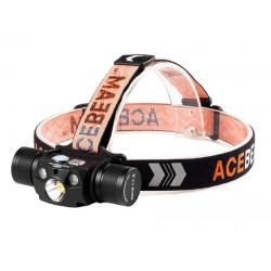 ACEBEAM H30 frontal LED con Linterna recargable por USB Tipo C