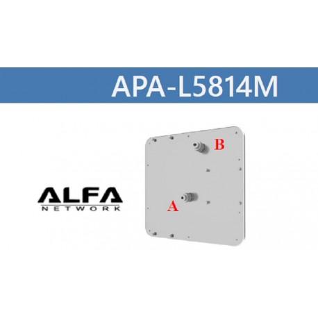 ▷ 14dbi WIFI Antenna Panel Mimo Alfa Network