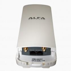 AP WIFI CPE Alfa Network N2C router esterno 2x connettori femmina RP-SMA
