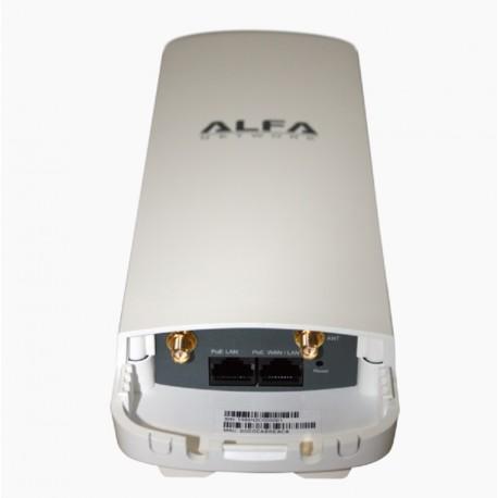 AP WIFI CPE Alfa Network N2C router esterno 2x connettori