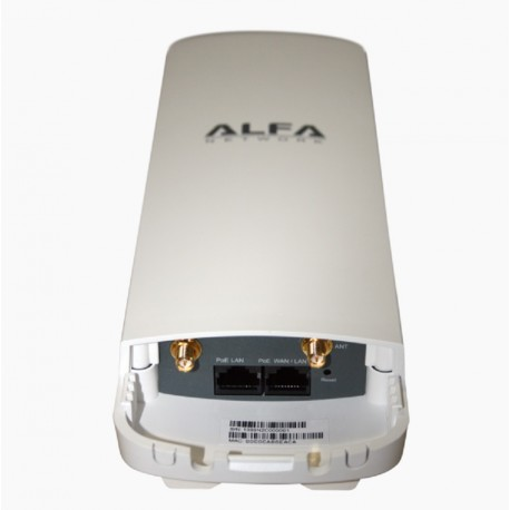 AP WIFI CPE Alfa Network N2C router exterior 2x RP-SMA