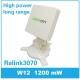 Antena WIFI Panel 14dbi para Mesa 1200mW RT3070L direccional USB