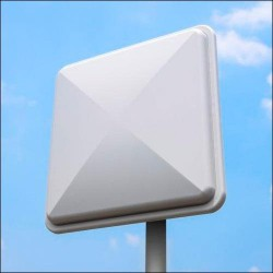 8dBi antena painel WIFI Alfa APA-L2408 2.4 GHz direcional