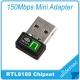 Mini-adapter WIFI-antenne USB Raspberry Pi Realtek RTL8188EU