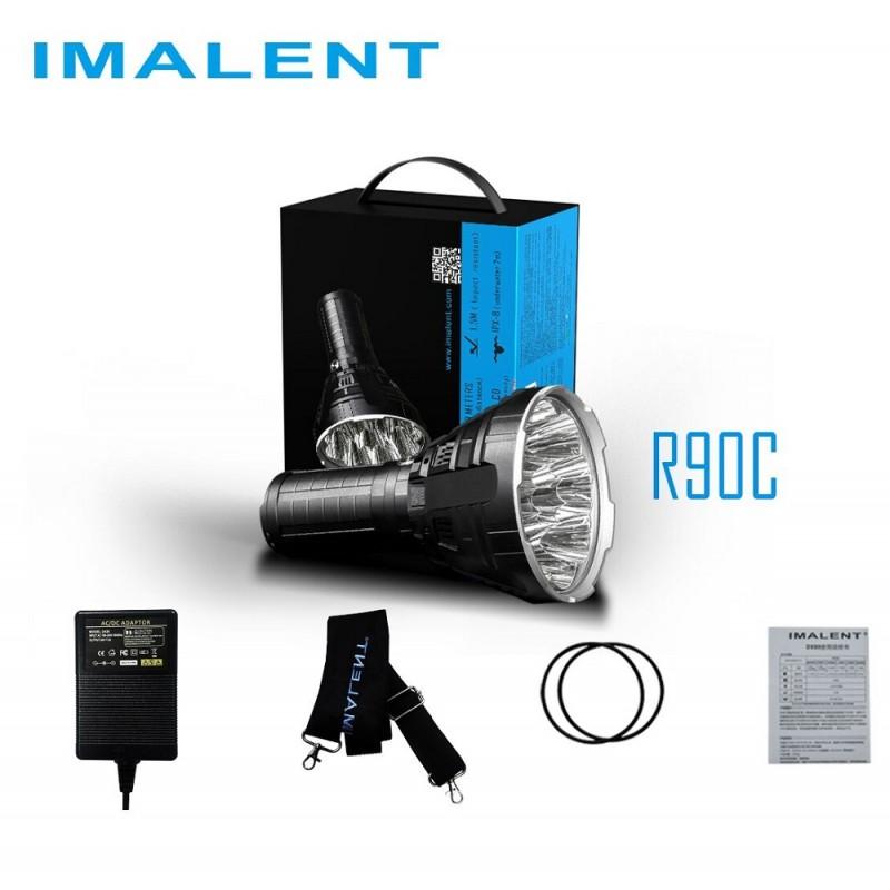 Imalent r90c linterna led potente 20000 l menes for Linterna de led potente