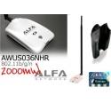 AWUS036NHR v2 + 18dbi antenna WIFI omnidirezionale a lungo raggio