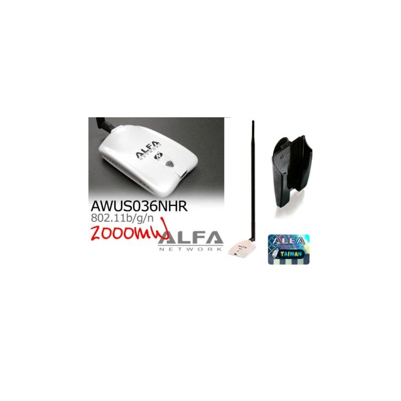 Awus036nhr v2 18dbi antenne wifi omnidirectionnelle longue port e - Antenne wifi usb longue portee ...