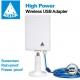 MELON N89 antena wi-fi 24dbi 2000mw painel USB 10m impermeável