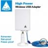 MELON N89 antena wifi 24dbi 2000mw panel USB 10m impermeable