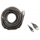 Cable USB 10 metros para antenas WiFi Alfa Network USB-mini