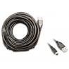 Cable USB 10 metros para antenas WiFi Alfa Network USB-mini