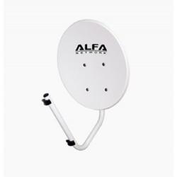 Réflecteur d'antenne parabolique WIFI 22 dBi Alfa Network Plat-N