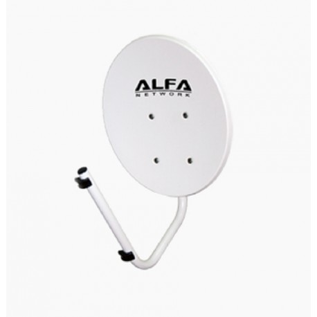 Reflector de antena parabólica WIFI 22 dBi Alfa Network Dish-N
