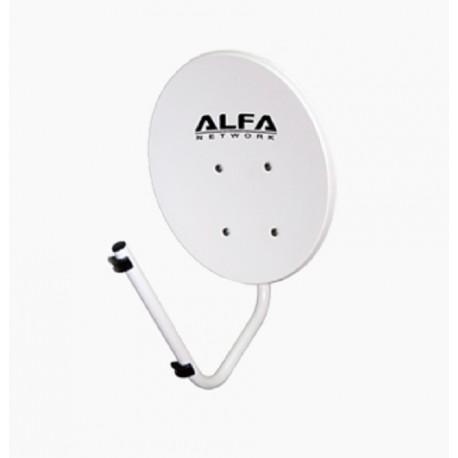 Refletor de antena WIFI 22 dBi Alfa Dish Network-N