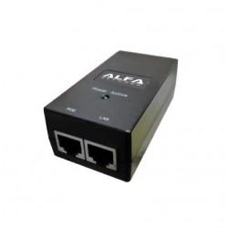 Adaptadpr POE Alfa Network APOE-2405 passive 240V 24v