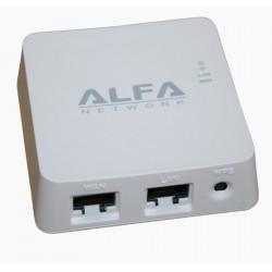 Fournisseur d'ACCÈS sans fil WIFI Routeur de poche Alfa Réseau