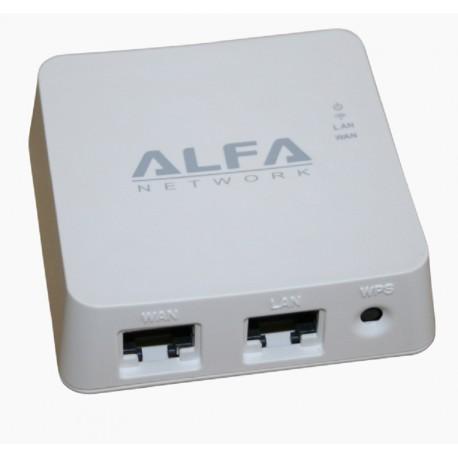 WISP Router WIFI de bolsillo Alfa Network AIP-W512 repetidor
