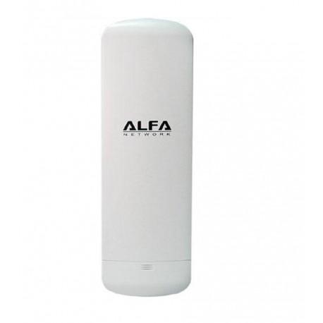 CPE wifi exterior Alfa Network N2S 2.4 GHz ANTENA rJ45 10DBI