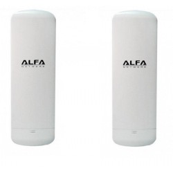 KIT para conectar por WIFI 2 casas com 2 unidades de CPE WIFI Alfa N2S
