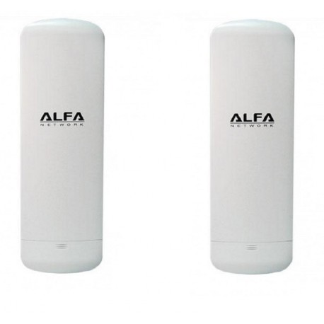 KIT to connect by WIFI 2 homes with 2 units of CPE WIFI Alfa N2S