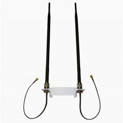 Rede Alfa Alfa N2C N-9 KITS-9 N Antenas cabos de suporte de 9dbi