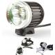 Linterna LED Bici recargable Frontal casco bicicleta 3 CREE XML