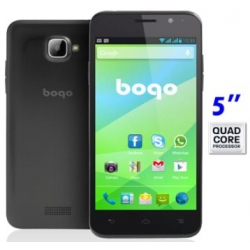 "Movil libre dual SIM Bogo 5 QC 5"" 4GB 3G GPS QUAD CORE 8MPX IPS"
