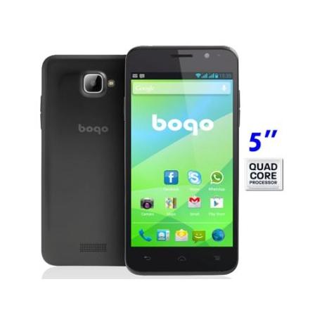"""Movil libre dual SIM Bogo 5 QC 5"""" 4GB 3G GPS QUAD CORE 8MPX IPS"""