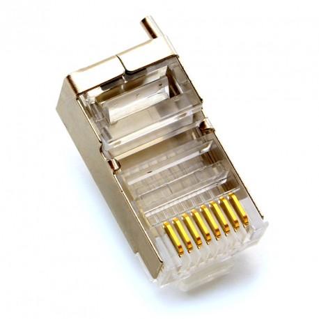 Conector Rj45 UBIQUITI TC-COM-100 TOUGH Cabo - Pack 100 unidades