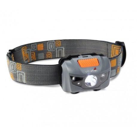 Lampe de poche Ultrafire W03 LED tête fonctionne avec normal