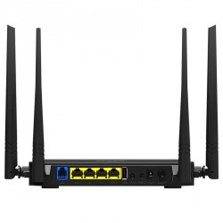 Modem router ADSL2+ WIFI IPTV ISP NAS USB con USB e 4 Antenne