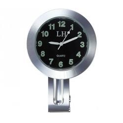Orologio moto manubrio morsetto in Metallo cromato