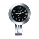 Handlebar Mount Dial Clock Watch For Motorcycle Bicycle Cruiser