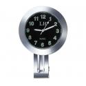 Horloge moto guidon barre de serrage en Métal chromé