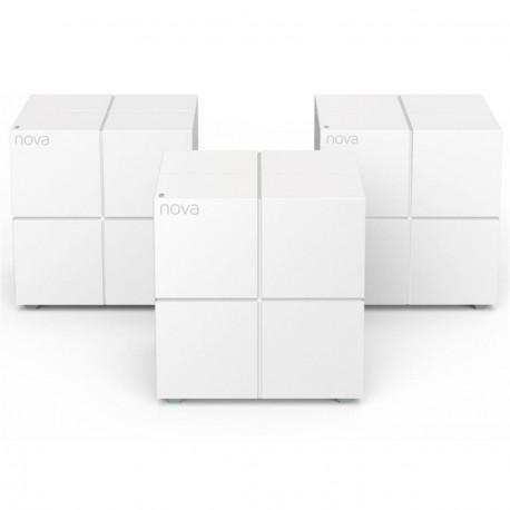 Pack wi-Fi MESH TENDA NOVA SISTEMA MW6-NOVA Gigabit AC1200