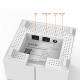 Sistema Wifi a maglia completa di NOVA MW6 pacchetto-di-2 -