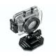 Video camera impermeabile HD 720P casco moto touch screen di litio