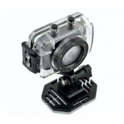 Câmera de vídeo à prova d'água, HD 720P bicicleta capacete tela
