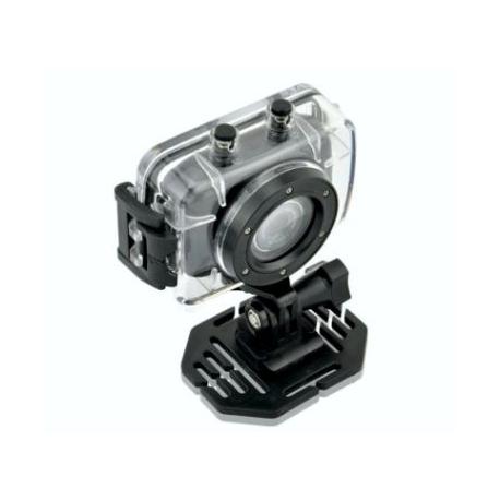 La vidéo de la caméra étanche HD 720P casque de vélo à écran